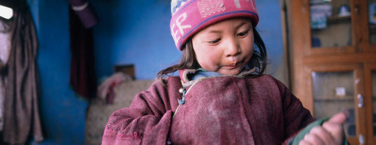 Ladakhi Child - Ibex Expeditions - Adventure Holidays India