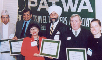 Pacific Asia Travel Writers Association Award 1998 | Ibex Expeditions