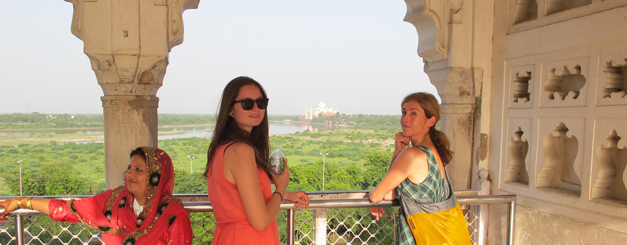 Agra Fort Fun - Ibex Expeditions