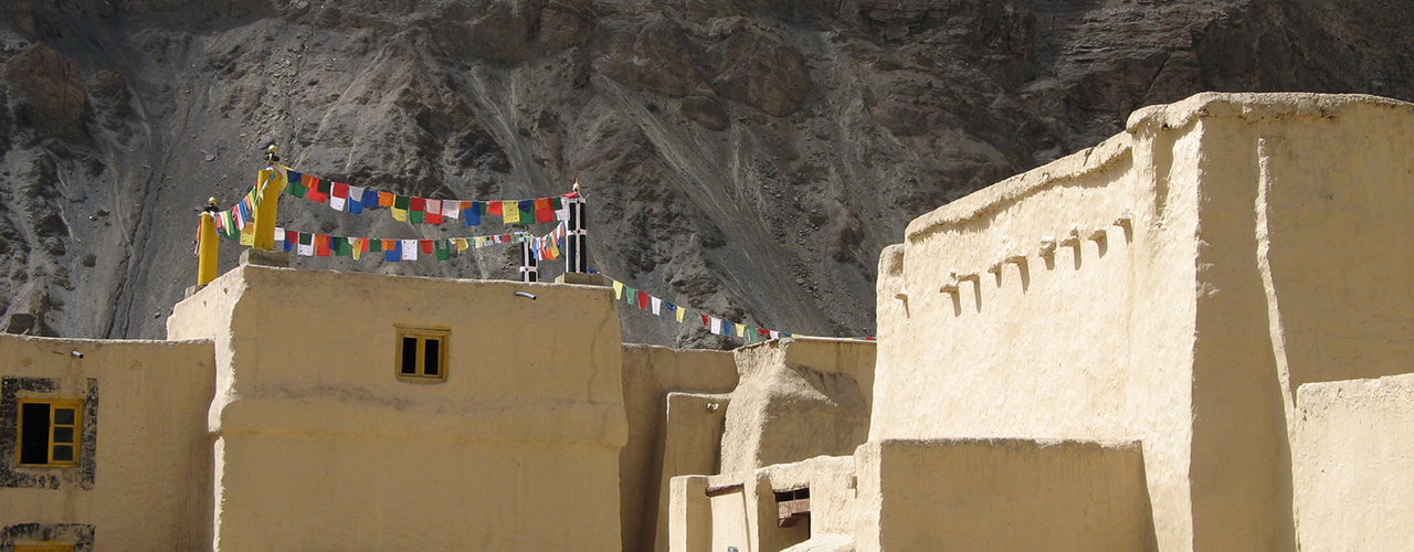 Ancient Mud Monastery In Tabo Spiti Valley - Ibex Expeditions