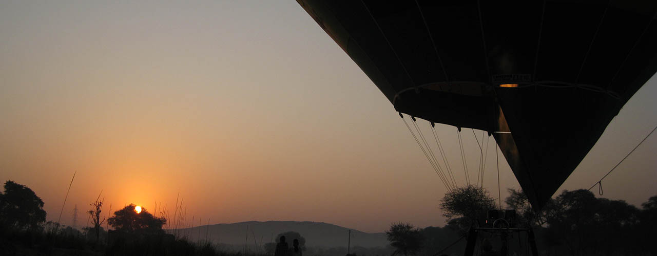 Hot Air Balloon Tours In India - Ibex Expeditions