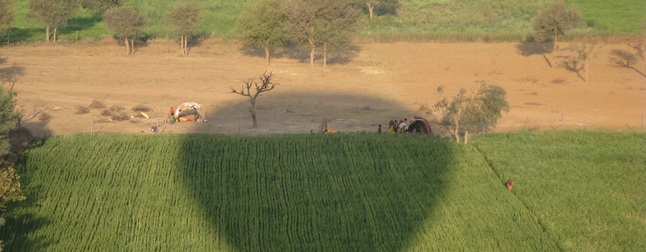 Hot Air Balloon Trips In India - Ibex Expeditions