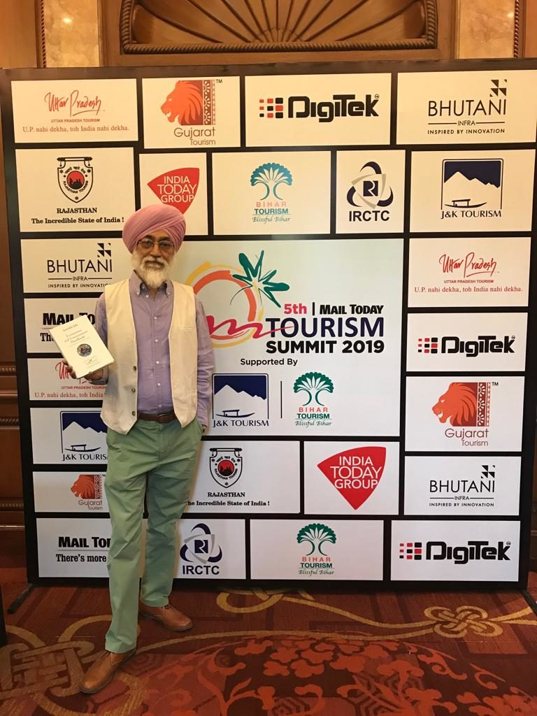 MANDIP SINGH SOIN AT THE 5TH MAIL TODAY TOURISM SUMMIT