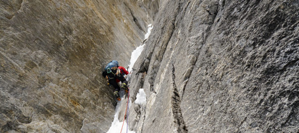 Southwest face of Nilkanth - Ibex Expeditions